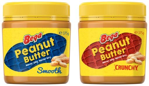 Bega Peanut Butter Jars